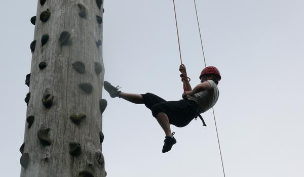 Klatring og outdoor-oplevelser på Ry Højskole