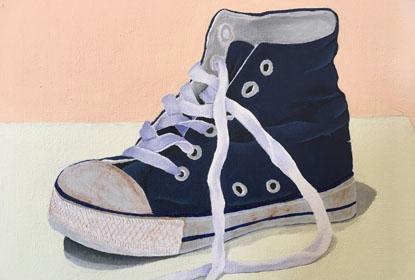 Gummisko: Kunst på Ry Højskole